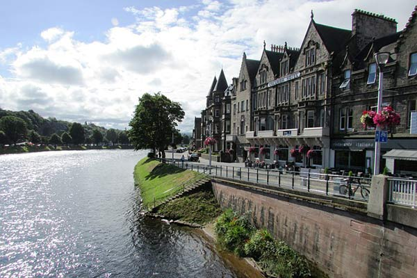 Inverness riverbank