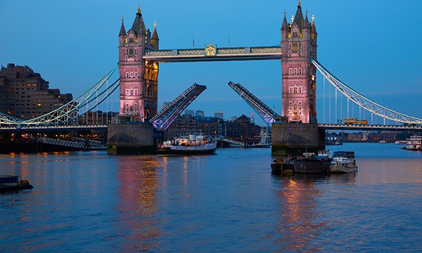 Tower Bridge London in Middlesex