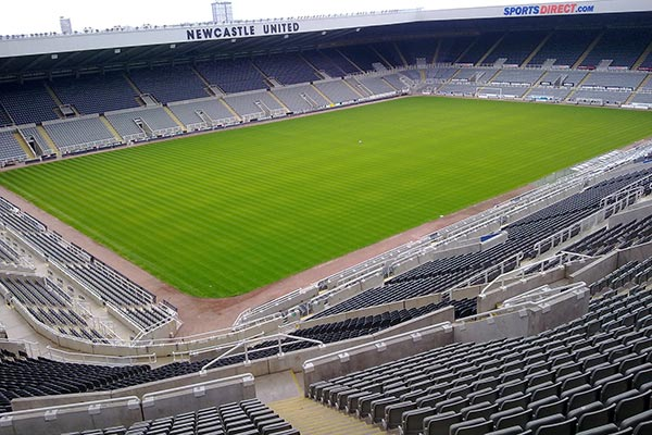 St James' Park Newcastle-upon-Tyne