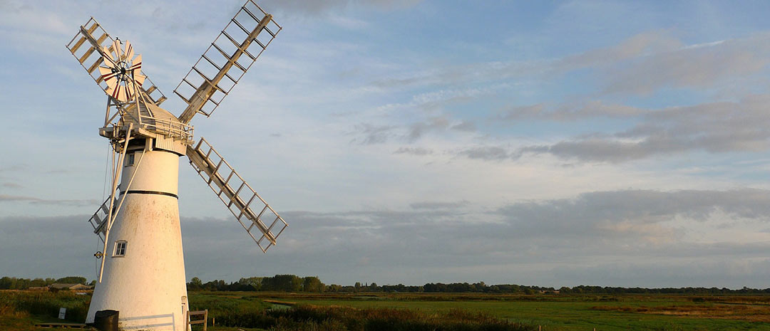 Norfolk Broads windmill