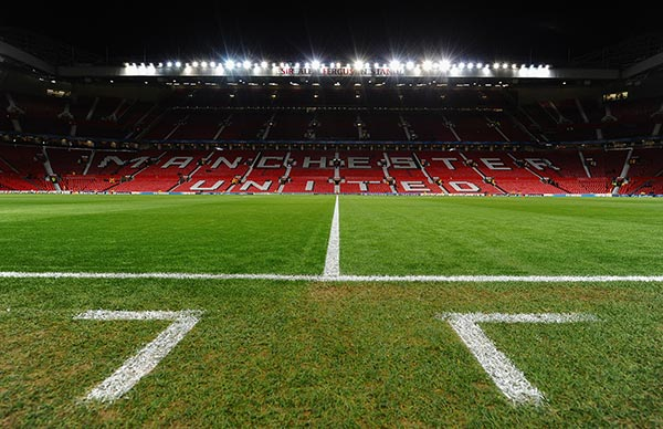 Manchester Old Trafford, home to Manchester United
