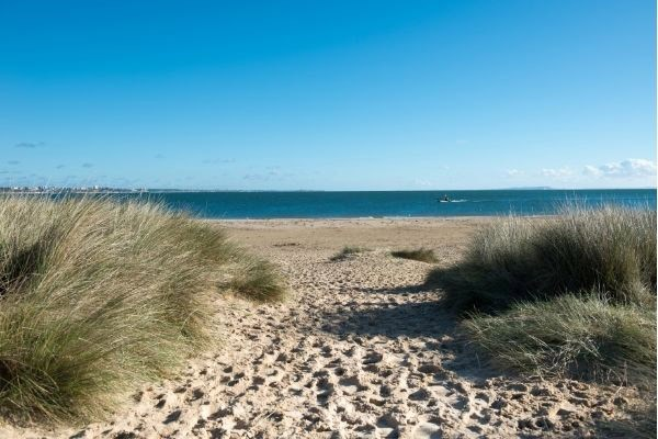Sand dunes at Poole
