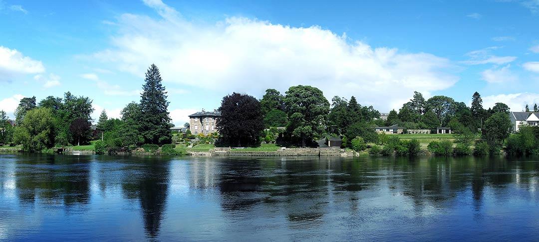 River Tay in Perth Scotland