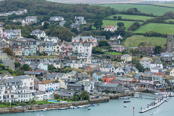 Salcombe town and waterfront