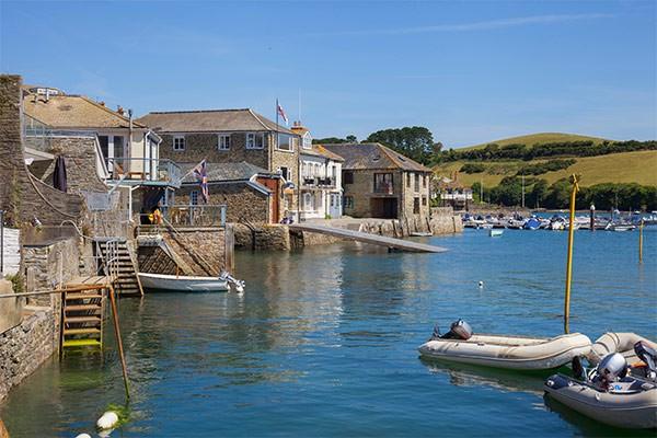 Salcombe waterfront
