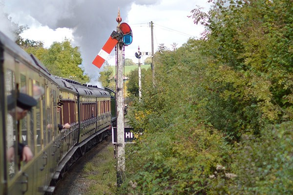 severn valley railway in Worcester