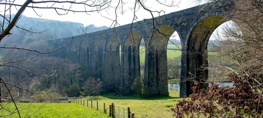 Shillamill viaduct in Tavistock