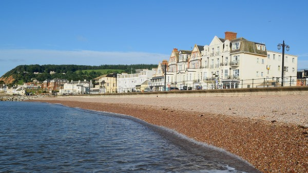 Sidmouth beachfront