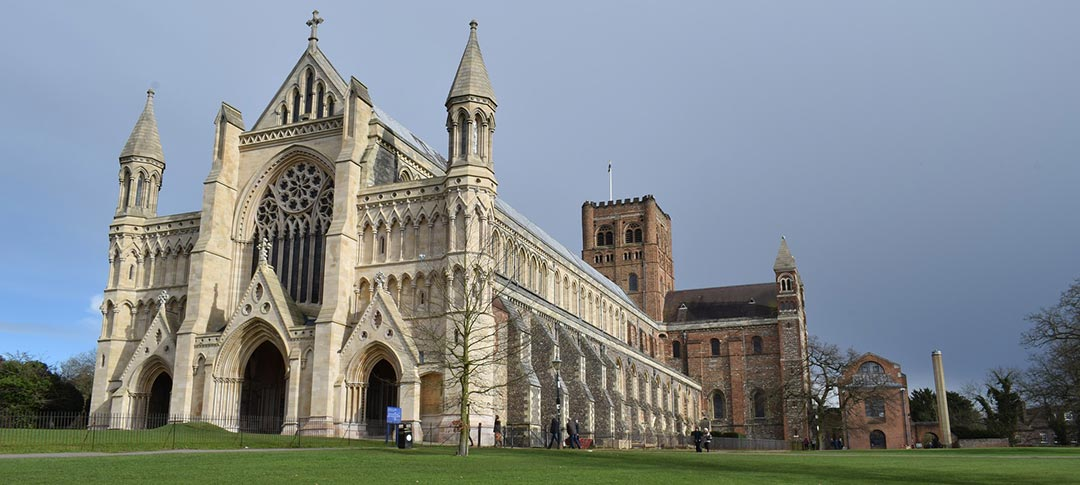 St Albans Cathedral in Hertforshire