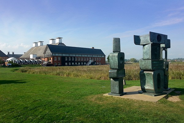 Snape Maltings sculpture in Suffork