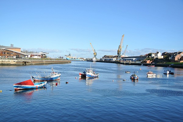Sunderland fishing boats