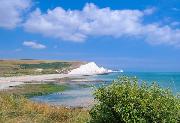 The Seven Sisters in Sussex